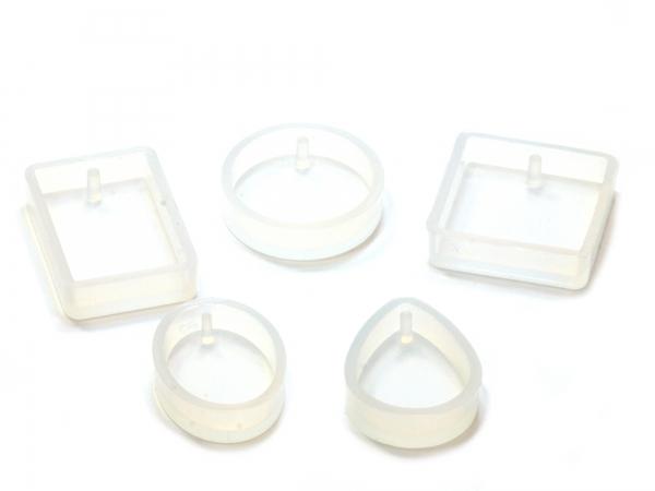 Silikonformen 5er Set Betongießformen Betonformen für Gießharze