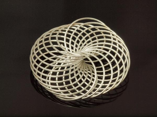 Metallperlen FEUX II Creativ - Metall - Element, Spirale 40 mm