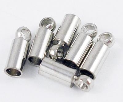 Endkappen ELVIN 2,5x7 mm, Öffnung 2,1 mm 5 Paar