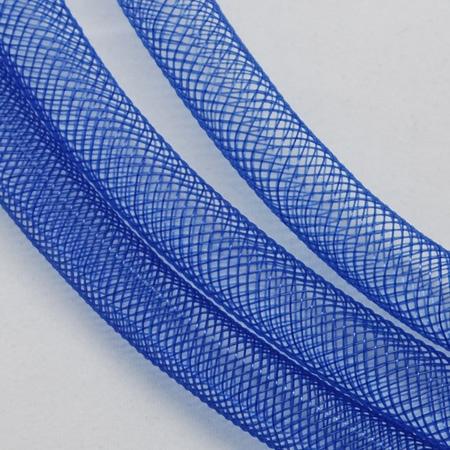 Mesh Schlauch, mittel-blau, 8 mm, 1 m