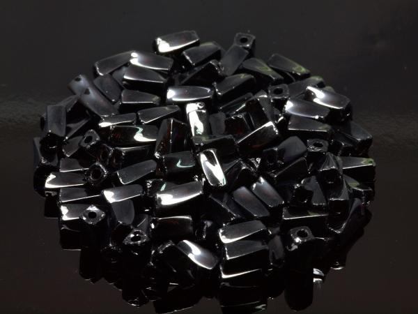 Rocailles, Böhmen,Super Twisted, schwarz ca. 4 mm, 50 g