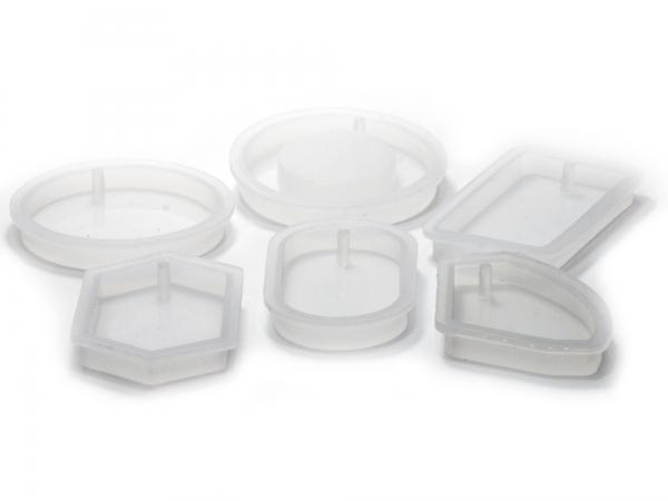 Große Silikonformen Betongießformen Betonformen für Gießharze - 1 Stück