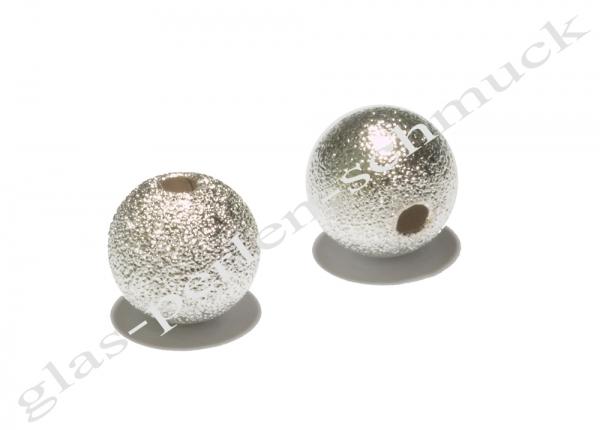 Metallperlen, diamantiert, 10 mm, 1 Stück