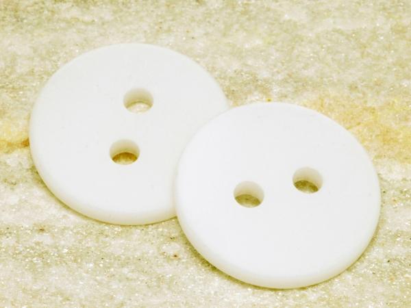 POLARIS - Knöpfe, weiß, 25 mm, 1 Stück