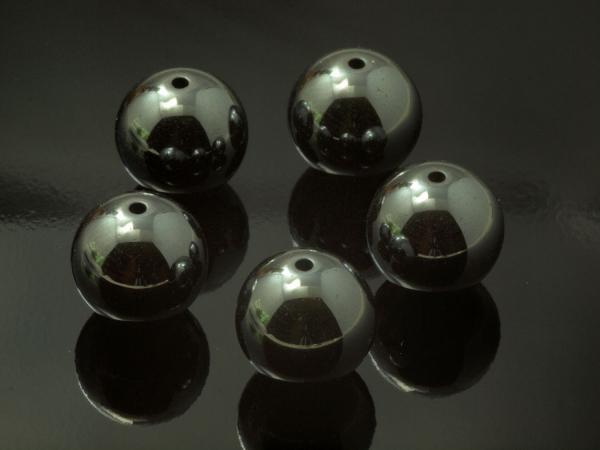 Hematitperlen KALI 12 mm, 1 Stück