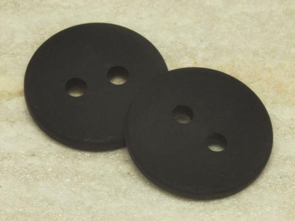 POLARIS - Knöpfe, schwarz, 25 mm, 1 Stück