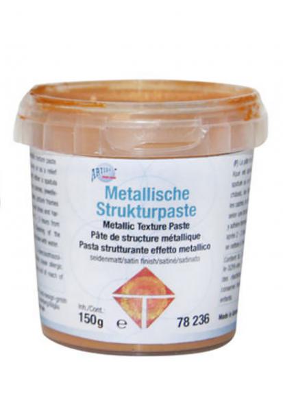 Metallische Strukturpaste Spachtelmasse 150g Kupferfarben