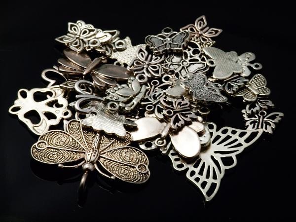 Metall Mix ELVANI Schmetterlinge 50 g