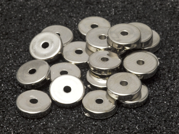 Spacer, Acryl, 8 x 2 mm, 20 Stück