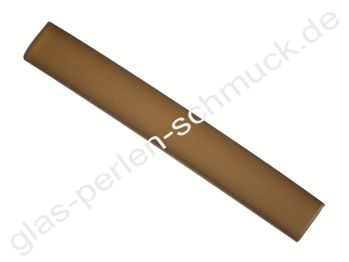 Kautschukband,flaches PVC-Band, 10 x 2 mm, braun, Länge 10 cm