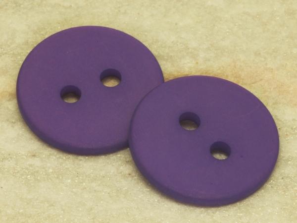 POLARIS - Knöpfe, dunkel-lila, 25 mm, 1 Stück