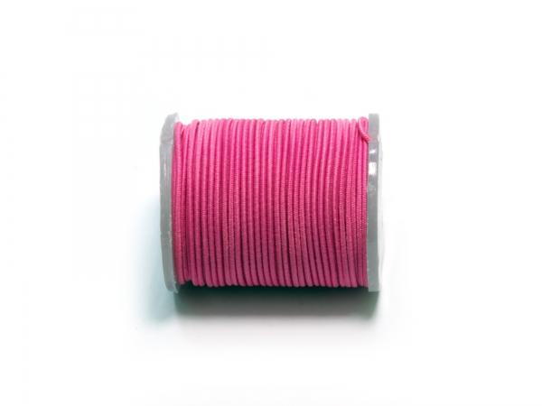 Elastik Kord Baumwollband, verschiedene Farben - 1 Rolle a 5m