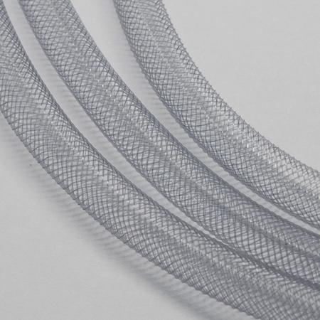 Mesh Schlauch, grau, 8 mm, 1 m