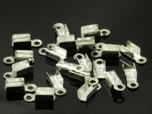 Lederband Klemme JÖRDIS ± 10 x 3 mm - 20 Stück