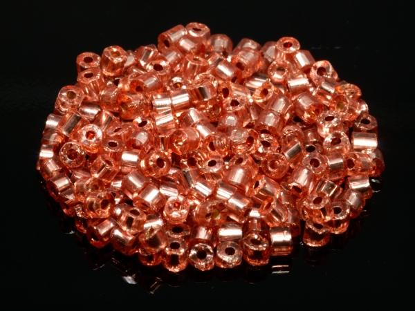 Rocailles, Böhmen, Tubes kupfer, ca. 2 mm, 50 g