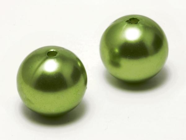 Acrylperlen, CERA, 16mm, grün