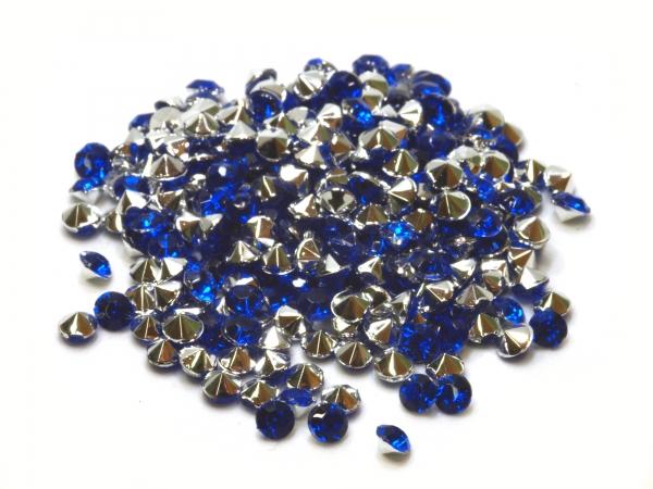 Strass Steine blau